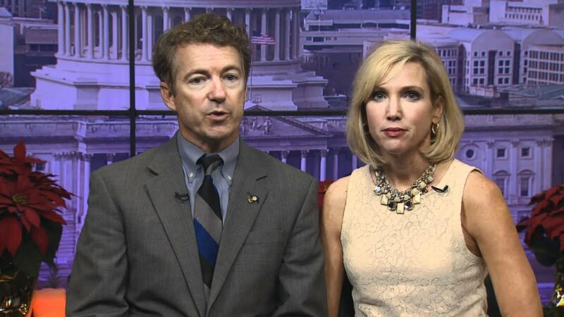 Senator Rand Paul's Wife Isn't Playing, Posts Message To Those Threatening Her Family