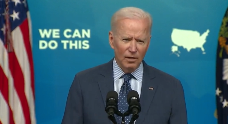 Watch: Latest Gaffe Forces Handlers To Put The Muzzle Back On Biden