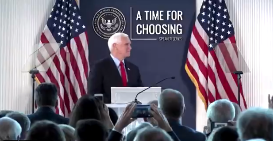VIDEO: Pence Says He Is 'Proud' Of His Actions On January 6th to Certify Election, 'I Will Always Be…