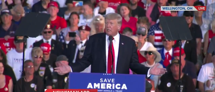 Watch: 'Sleepy' Joe Looks Like A Shell Of A Man In Contrast To Trump's Energy At Rally