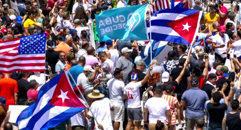 Biden, The Media, & His Big Tech Buddies Twist Protests In Cuban, They Don't Want You To Believe Your Eyes