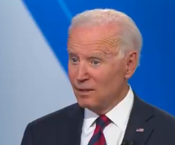 If A Pictures Worth A Thousand Words Then One Image Of Biden At The CNN Town Hall Says It All
