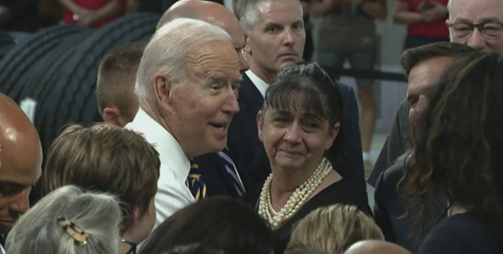 Political Theater: Biden Violates His Own CDC Guidelines, Gives Out Maskless Hugs
