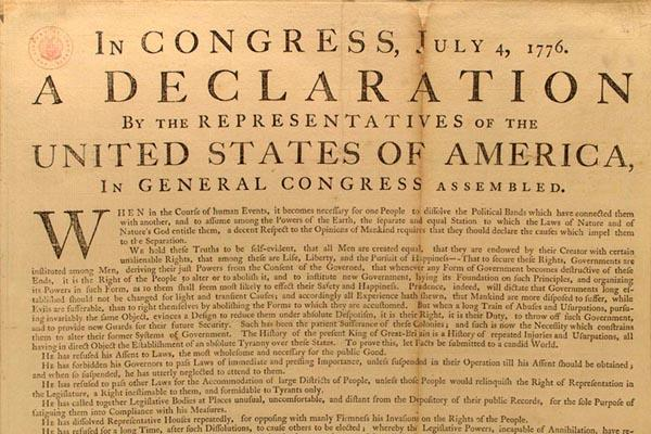 Defund NPR: Paper Denounces The Declaration Of Independence