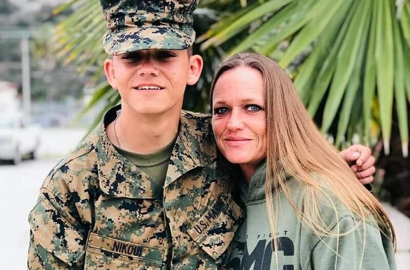 Big Tech Goes After Mother Of Fallen Marine