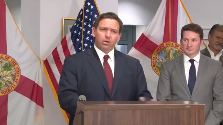 Watch: After White House Attack DeSantis Puts Biden In His Place, 'Why Don't You Get This Border…