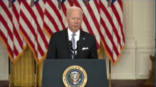Watch: Biden Throws Fuel On The Fire, Delivers Cynical Response To Botched Withdrawal