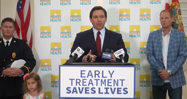 Watch: Gov. Ron DeSantis Delivers The Perfect Response To Angry Joe's Mandate