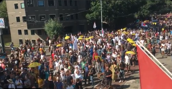 WATCH: Media Ignores As Protest Breakout Around The World