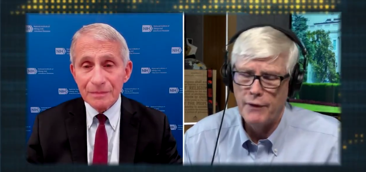 Watch: Fauci Interview Doesn't Go As He Planned