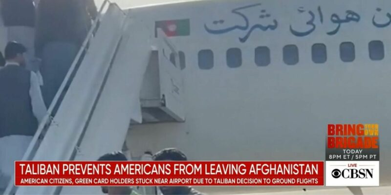 Hostage Crisis! Taliban Traps Planes Packed With Americans