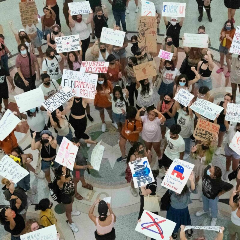 Dems Look To Shocking Group To Stop Texas Abortion Law As A Last Ditch Effort