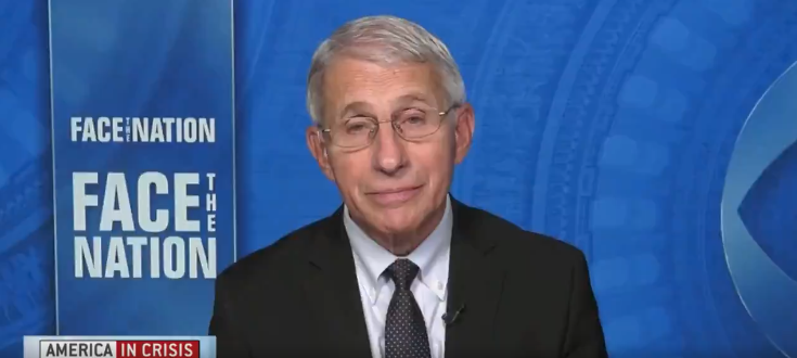 VIDEO: Fauci Forced To Clarify After Weekend Interview Backfires