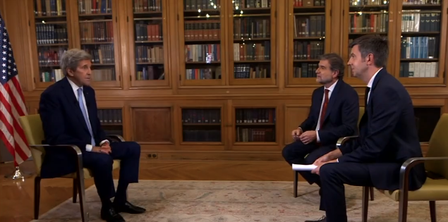 Watch: John Kerry Admits Joe Has No Idea What's Going On, 'He Literally Had Not Been Aware Of…
