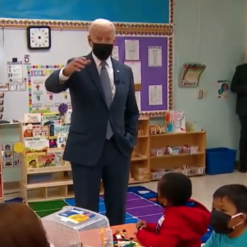 VIDEO: Biden Gives Kids A Lesson On How To Run Like A Coward 'You Try To Figure Out How Youre Gonna…
